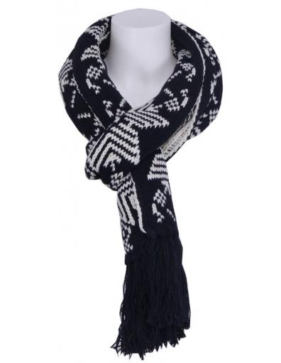 Zumo - Snow star sjaal - Accessoires - Zwart