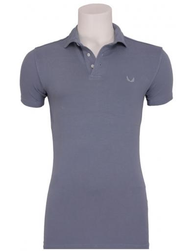 Zumo - Tommy stretch Polo I - Zumo - T-shirts - Blauw - T-shirts - Blauw