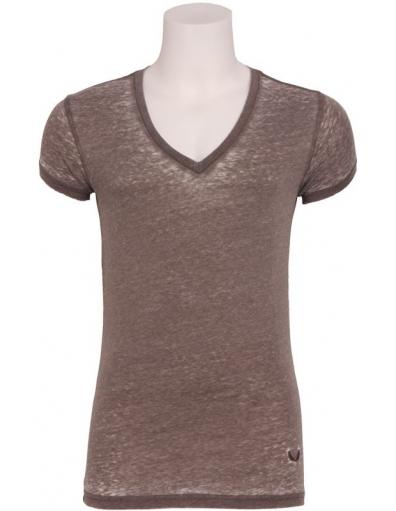 Zumo - Jimmy - T-shirt S/S V-neck - T-shirts - Groen