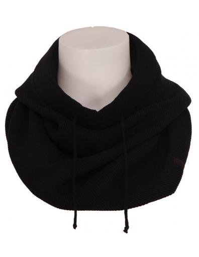 Zumo - 9005 Zeno - Hooded scarf - Accessoires - Zwart