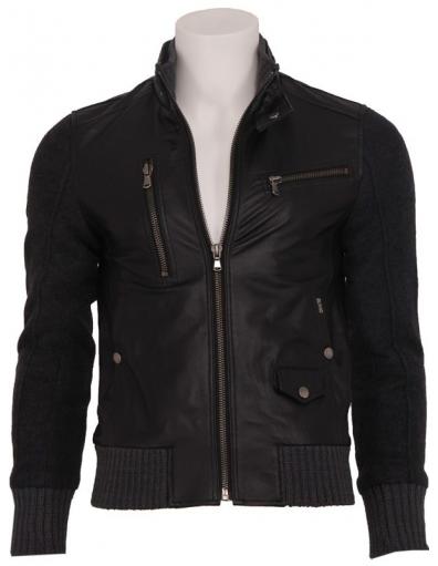 Zumo - Sly - Leather Jacket - Jassen - Zwart