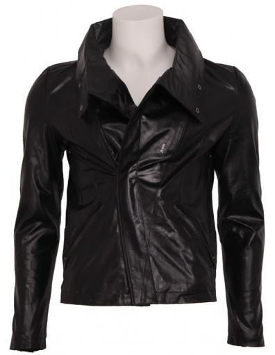 Zumo - Steve - Leather Jacket - Jassen - Zwart