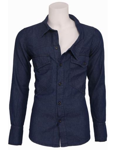 Zumo - Uphill Denim - Shirt Jacket - Overhemden - Blauw