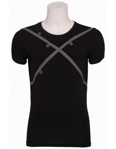Zumo - Axbridge - T-shirt S/S roundneck - T-shirts - Zwart