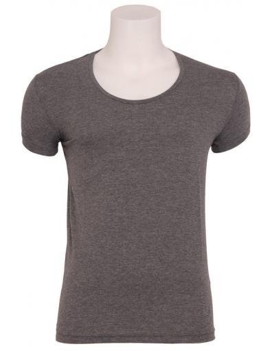 Zumo basic t-shirt - Stuart - Donkergrijs
