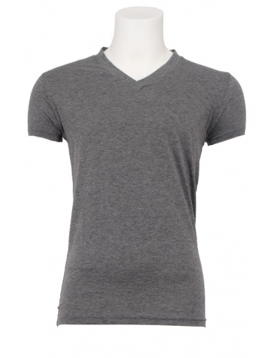 Zumo basic t-shirt - Marbelle - Dark grey
