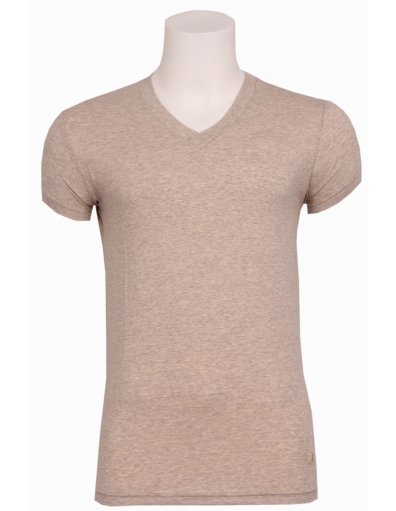 Zumo basic t-shirt - Marbelle - Ecru