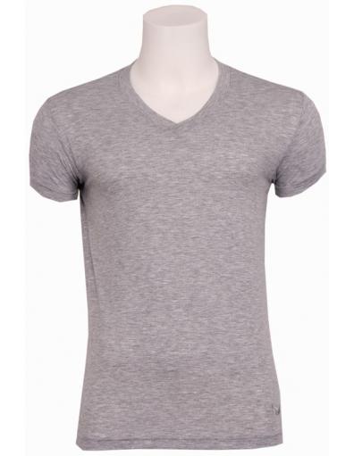Zumo basic t-shirt - Marbelle - Light Grey